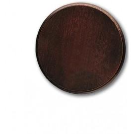 Keilerschild 18 cm Durchmesser, Eiche dunkel