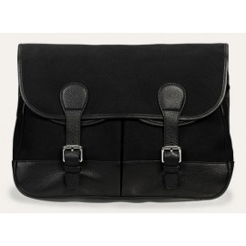 Baron Country Tote Black Canvas
