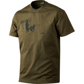 Seeland Printed T-Shirt Pine green