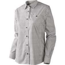 Härkila Lancaster Lady Bluse Blackberry check