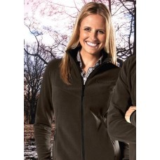 Outfox Fleecejacke Casual Lady Dark Olive