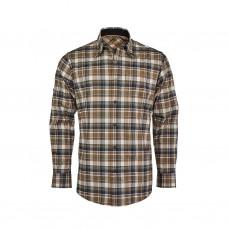 Blaser Komfort Hemd Modern Herren schlamm/orange/natur kariert