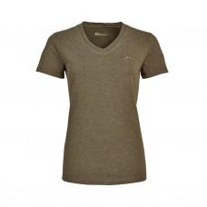 Blaser V-T-Shirt Damen schilf mélange