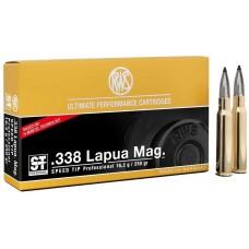 .338 Lapua Mag 16,2g - 250grs RWS Speed Tip Pro Büchsenmunition