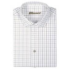 Blaser Oxford Hemd Modern Fit Herren oliv/beige kariert