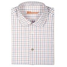 Blaser Oxford Hemd Modern Fit Herren Richard burned orange/braun kariert